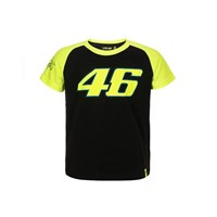 Rossi 2018 kids Race T-shirt in black/yellow