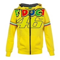 Rossi 2018 Kids The Doctor Hoody Yellow