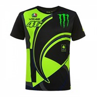 Valentino Rossi VR46 2019 Monster T-shirt in black