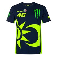 Valentino Rossi VR46 2020 Monster Sun and Moon T-shirt