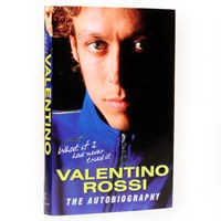 Valentino Rossi -What If I Had Never Tried It - The Autobiography book signed by Valentino Rossi