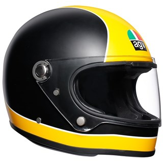 AGV X3000 Super helmet in matt black / yellow