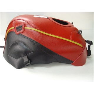 Bagster Tank cover GPZ 750R NINJA / GPZ 900R NINJA - red / black / gold piping