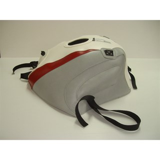 Bagster Tank cover FJ 1200 - white / light grey / red stripe