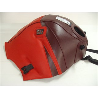 Bagster Tank cover TRANSALP XLV 600 - dark claret / poppy red