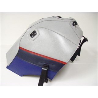 Bagster Tank cover TRANSALP XLV 600 - light grey / red / baltic blue