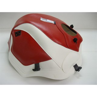 Bagster Tank cover ZX 10 TOMCAT - red / white