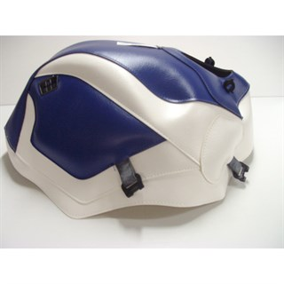 Bagster Tank cover ZX 10 TOMCAT - blue / white