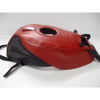 Bagster Tank cover GSX 750R / GSX1100R - red / black