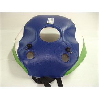 Bagster Tank cover ZXR 750 STINGER - blue / white / green
