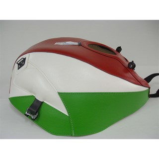 Bagster Tank cover ZXR 750 STINGER - red / white / green
