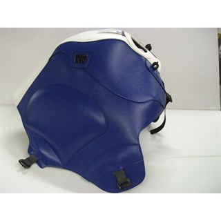 Bagster Tank cover XTZ 750 SUPER TENERE - white / blue