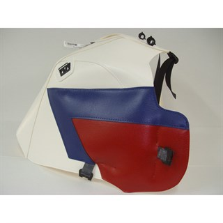 Bagster Tank cover XRV 750 AFRICA TWIN - white / blue / red