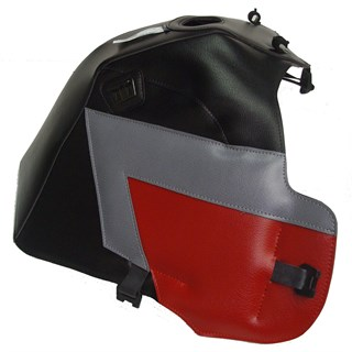 Bagster Tank Cover Honda XRV 750 Africa Twin Black / Grey / Red