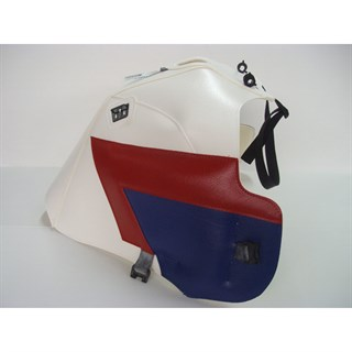 Bagster Tank cover XRV 750 AFRICA TWIN - white / red / blue
