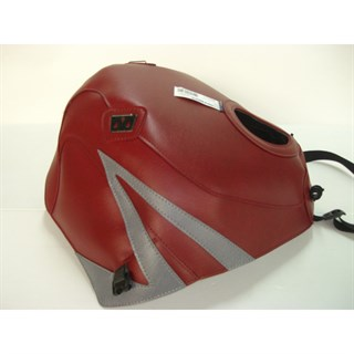Bagster Tank cover ZZR 1100 - light claret / steel grey Z