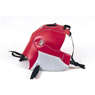 Bagster Tank cover KLE 500 - red / light grey