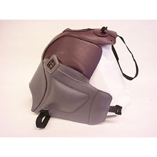 Bagster Tank cover KLE 500 - aubergine / steel grey