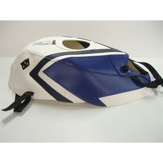 Bagster Tank cover GSX 750R - blue / white / navy blue W
