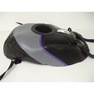 Bagster Tank cover GSX 1100R - black / steel grey / purple
