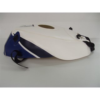Bagster Tank cover GSX 1100R - white / blue / navy blue triangle