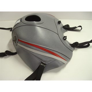 Bagster Tank cover TDM 850 - steel grey / red / light grey