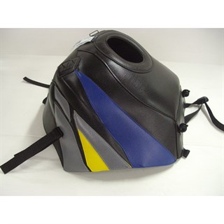 Bagster Tank cover CBR 600F - black / blue / steel grey / lemon