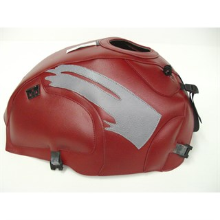 Bagster Tank cover R100 GS / R100 R / R1000 GS / R80 GS / R80 R - light claret / steel grey