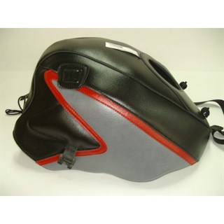 Bagster Tank cover GPZ 500S / GPZ 500 EX - black / steel grey / red Z
