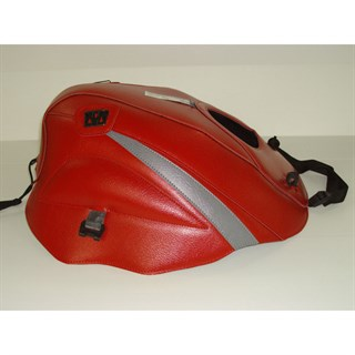Bagster Tank cover GPZ 500S / GPZ 500 EX - red / steel grey
