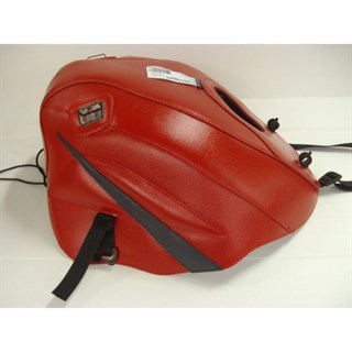 Bagster Tank cover GPZ 500S / GPZ 500 EX - red / anthracite triangle