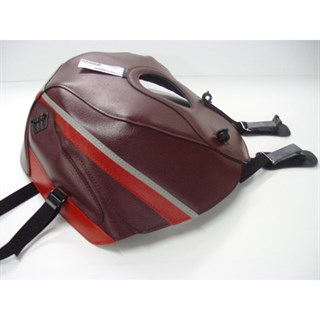 Bagster Tank cover GSX 1100F - dark claret / red / steel grey