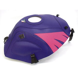 Bagster Tank cover GS 500E - dark purple / fuschia deco