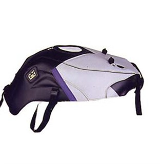 Bagster Tank cover GSX 750R / GSX 1100R - black / light grey / lilac