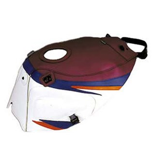 Bagster Tank cover FZR 1000 - blackcurrant / white / periwinkle blue