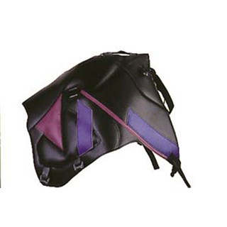 Bagster Tank cover XTZ 660 - black / plum