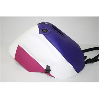 Bagster Tank cover CBR 900R - dark purple / white / fuschia