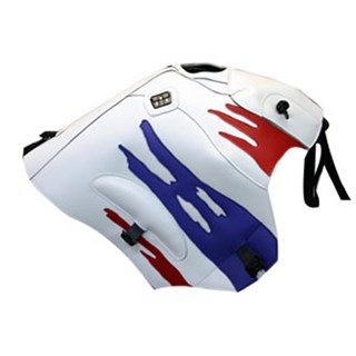 Bagster Tank cover XRV 750 AFRICA TWIN - white / red / lilac