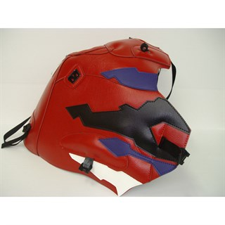 Bagster Tank cover XRV 750 AFRICA TWIN - red / dark purple / black / white