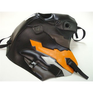Bagster Tank cover XRV 750 AFRICA TWIN - black / lead / apricot / grey