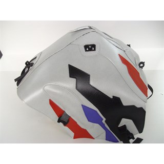 Bagster Tank cover XRV 750 AFRICA TWIN - grey / red / black / lilac