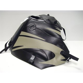Bagster Tank cover XRV 750 AFRICA TWIN - black / sand deco
