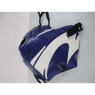 Bagster Tank cover XRV 750 AFRICA TWIN - baltic blue / white deco