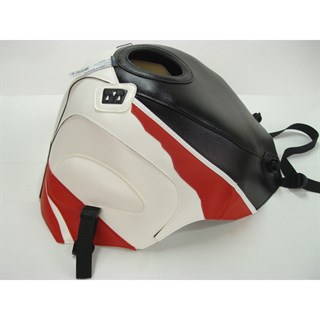 Bagster Tank cover YZF 750 R / YZF 750 SP / FZR 600 - navy blue / white / poppy red