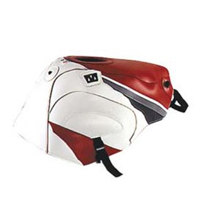 Bagster Tank cover YZF 750 R / YZF 750 SP / FZR 600 - red / white / steel grey / anthracite
