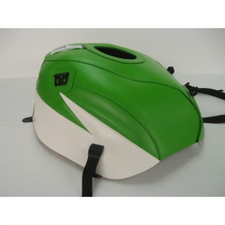 Bagster Tank cover ZXR 400 / ZXR 400 / ZX 400 - green / white