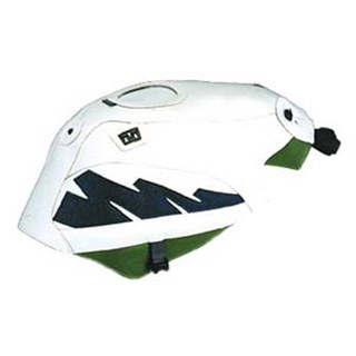 Bagster Tank cover ZXR 750 - white / blue / green