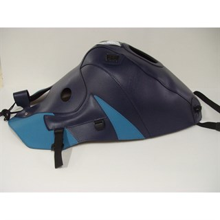 Bagster Tank cover ZZR 1100 - navy blue / periwinkle blue