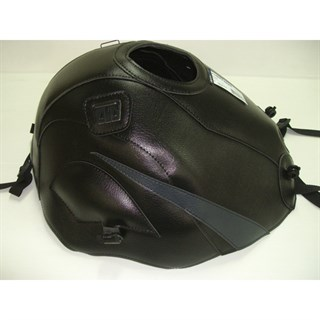 Bagster Tank cover ZZR 600 - black / anthracite triangle