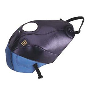 Bagster Tank cover ZZR 600 - navy blue / periwinkle